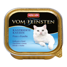 Animonda Vom Feinsten für kastrierte Katzen Pute + Forelle