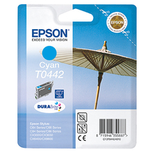 Epson Tintenpatrone C13T04424010 T0442 420Seiten 13ml cyan
