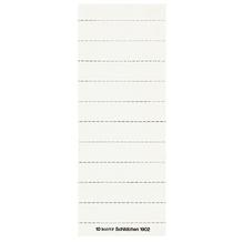Leitz Beschriftungsschild 19020001 blanko 3zeilig weiß 100 St./Pack.