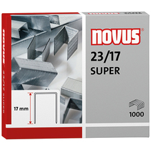 NOVUS Heftklammer 23/17 042-0045 verzinkt 1.000 St./Pack.