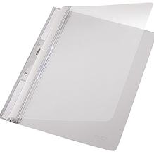 Leitz Einhakhefter 41900085 DIN A4 kfm. Heftung PVC grau