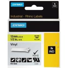 DYMO Schriftbandkassette Rhino ID1 18432 12mmx5,5m sw auf ge