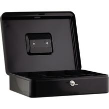 Geldkassette 30x9x24cm 5Fächer schwarz