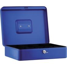 Geldkassette 30x9x24cm 5Fächer blau