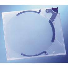DURABLE CD/DVD Box QUICKFLIP STANDARD 528806 bl/tr 10 St./Pack.