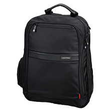 LIGHTPAK Notebookrucksack Echo1 Executive Line 46103 Nylon schwarz