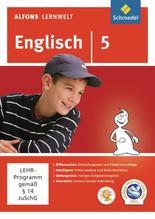 Alfons Lernwelt Lernsoftware Englisch 5. CD-ROM für Windows 7; Vista; XP
