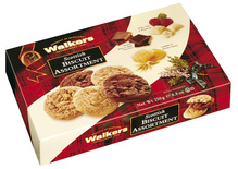 2418 walkers shortbread scottish biscuit assortment 250g