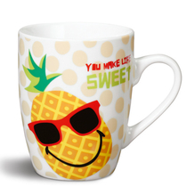 Nici Porzellan-Tasse 'Ananas you make live sweet'