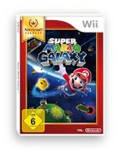 Wii Super Mario Galaxy Select. Nintendo Wii
