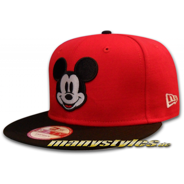 Disney Comic Art Mickey Mouse Face 9FIFTY Snapback Cap S/M - Small Medium