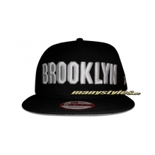 5 Boros NY City Line ed. Brooklyn Snapback Cap Ltd.Ed. Black White exclusive