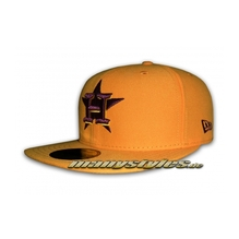 HOUSTON ASTROS MLB Seasonal Contrast Cap Golyellow Maroon
