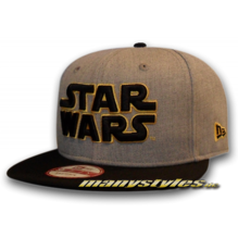 Star Wars Licensed Star Wars Word Emea Chambray 9FIFTY Snapback Cap