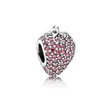 Pandora Charm Glänzende Rote Erdbeere 791899CZR