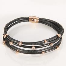 Armband schwarz 18