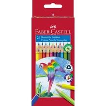 Faber-Castell Farbstift Triangular 116544 sortiert 24 St./Pack.