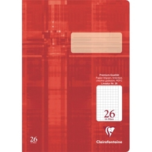 Clairefontaine Schulheft Premium 331026C DIN A4 16Bl. kariert