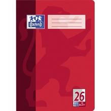 Oxford Schulheft Nr. 26 100050312 DIN A4 Rand rechts 16Bl. kariert