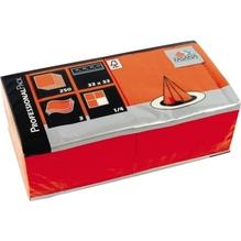FASANA Serviette 217741 33x33cm 3lagig orange 250 St./Pack.