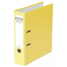 ELBA Ordner Rado brillant 100022613 breit gelb