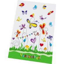 RNK Vokabelheft Schmetterlinge 46452 DIN A5 80g 40Blatt liniert
