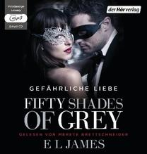 Fifty Shades of Grey - Gefährliche Liebe, 2 MP3-CDs | James, E. L.