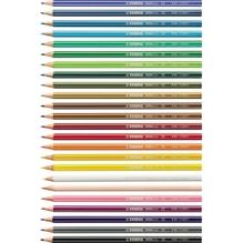 STABILO Farbstift GREENcolors 6019/2-24 sortiert 24 St./Pack.