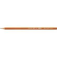 Faber-Castell Bleistift 1117 111700 sechskantform HB braun