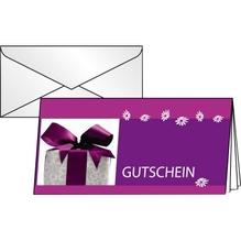 Sigel Faltkarte Gutschein Excitement DC403 DL 10 St./Pack.