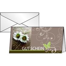 Sigel Faltkarte Gutschein Favourite DC402 DL 10 St./Pack.