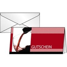 Sigel Faltkarte Gutschein Vino Rosso DC404 DL 10 St./Pack.
