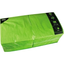 PAPSTAR Serviette 81656 33x33cm 3lagig apfelgrün 250 St./Pack.