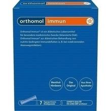 Orthomol Immun Direktgranulat Himbeer/Menthol 7 St