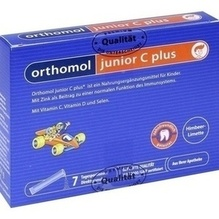 Orthomol Junior C plus Granulat 7 St