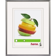 Hama Bilderrahmen Sevilla 00066435 30x40cm Kunststoff silber