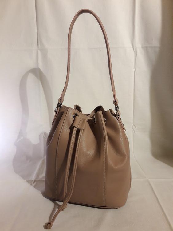 "Damen-Leder-Handtasche  ""Serena"", Farbe: mauve"