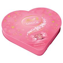 Lindt 'Lindor Herzbox' Erdbeere, 325g