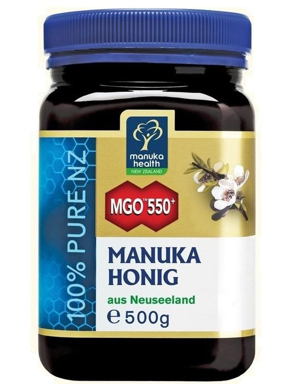 Aktiver Manuka Honig MGO™ 550+ von Manuka Health 500g
