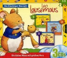 Leo Lausemaus - Einsteiger-Box, 3 Audio-CDs. Folgen.1-3