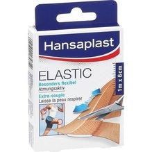 Hansaplast Elastic Pflaster 6 cmx1 m 1 St
