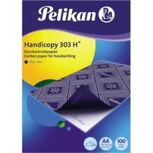 Pelikan Durchschreibpapier 303H 434894 DIN A4 blau