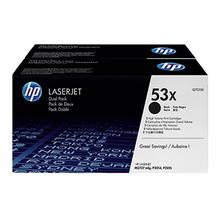 HP Toner Q7553XD 53X 7.000Seiten schwarz 2 St./Pack.