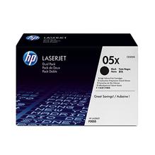 HP Toner CE505XD 05X 6.500Seiten schwarz 2 St./Pack.