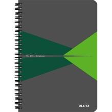 Leitz Collegeblock Office 44990055 DIN A5 PP lin. grün