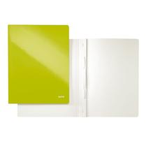Leitz Schnellhefter WOW 30010064 DIN A4 250g Karton grün metallic