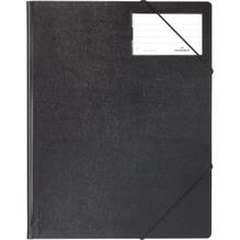DURABLE Eckspanner A4 232001 Kunststoff schwarz