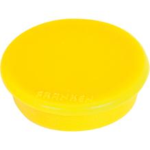 Franken Magnet HM20 04 rund 24mm gelb 10 St./Pack.