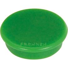 Franken Magnet HM20 02 rund 24mm grün 10 St./Pack.