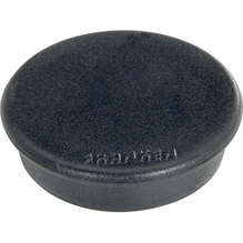 Franken Magnet HM20 10 rund 24mm schwarz 10 St./Pack.